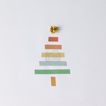 Minimalistic Christmas tree