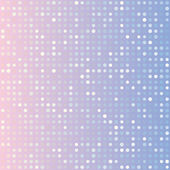 Blue serenity and pink rose quartz gradient background of multiples dots Fashion trends circles backdrop Vector illustration May use for modern background digital card posters website template