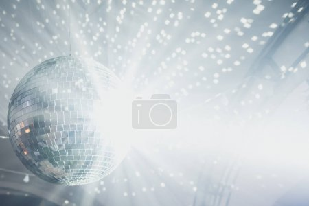 Close up of disco ball