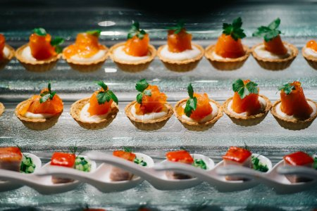 Small appetizers tarts