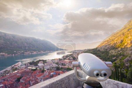 Coin Operated Binocular viewer in Kotor