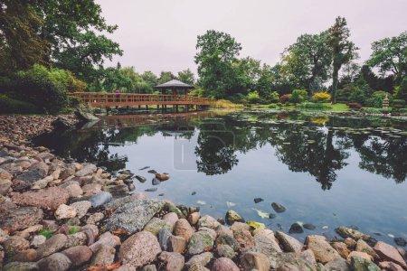 Japanese Garden in Wroclaw, Poland