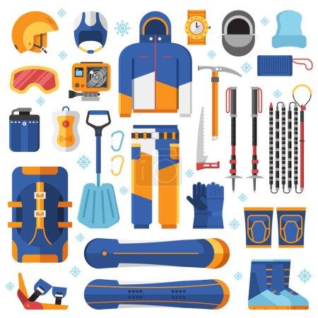 Snowboard Equipment Set