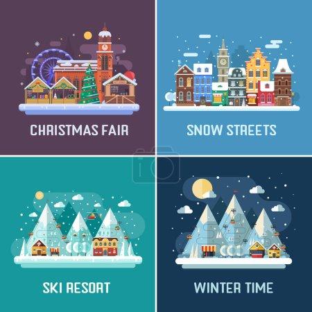 Winter Travel Landscapes