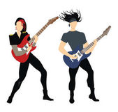 Isolated rock musicians