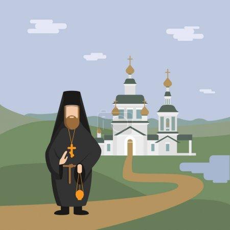 Church. Vector illustration