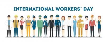 International labor day.