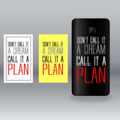 colored stickers for mobile phone with inscription