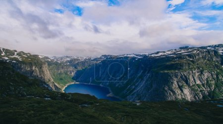 Beautiful norway mountains