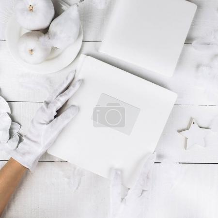 white colored objects