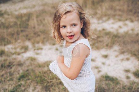 emotional little girl