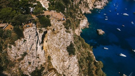 scenic view of coastline of Italy
