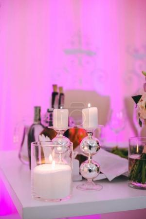 Restaurant decorations for wedding