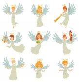 Set of angels