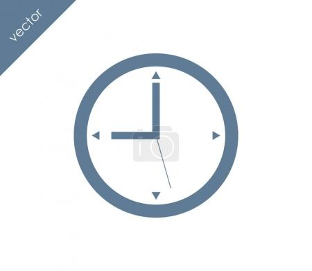 Clock web icon