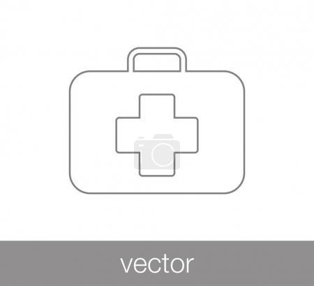 icône de trousse de premiers soins