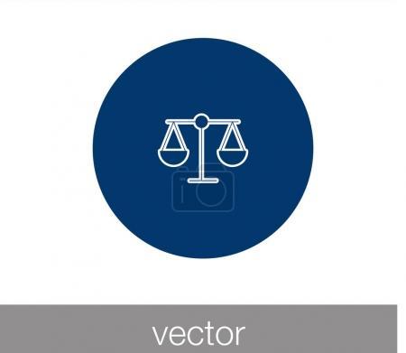 Scale symbol icon