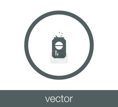 design of soda icon