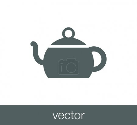 design of tea cup icon