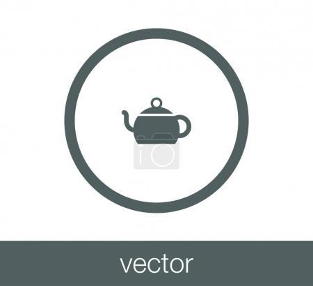 design of tea cup icon