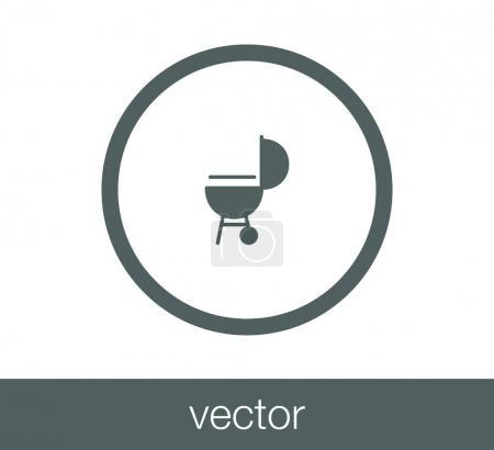 design of barbeque icon