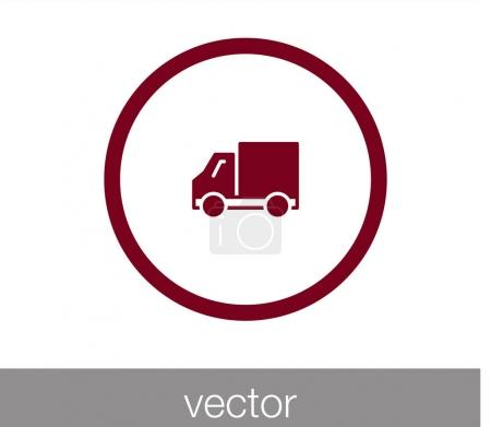 delivery truck web icon