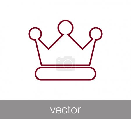 Crown web icon