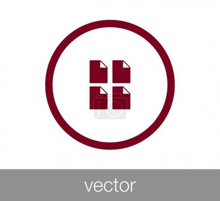 design of file icon