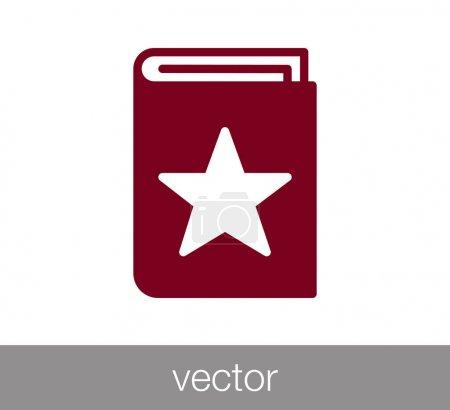 VIP book icon