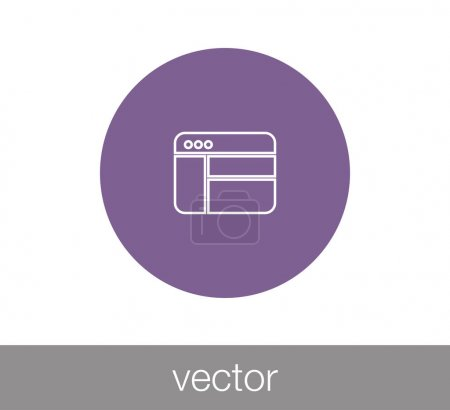 Window or Programming icon