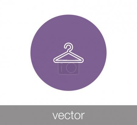 Hanger icon.  illustration
