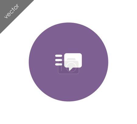 Vector illustration design of Texting icon...