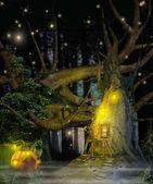Enchanting Fantasy Tree House