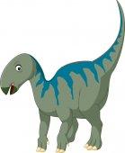 Happy Cartoon Iguanodon