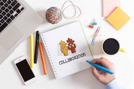Photo pour Partenariat, Business, le Concept de Collaboration - image libre de droit