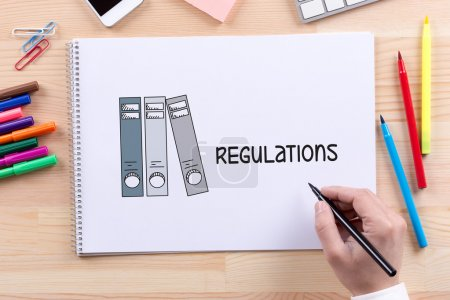 LEGAL REGULATIONS CONCEPT