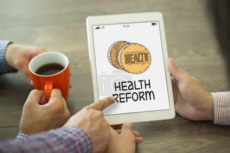 HEALTHCARE REFORM CONCEPT
