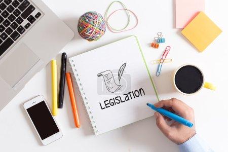 BUSINESS, LEGISLATION CONCEPT
