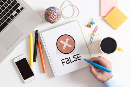 EXAMINATION, FALSE CONCEPT