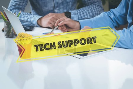 Tech Support concept