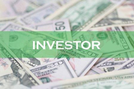 FINANCE CONCEPT: INVESTOR