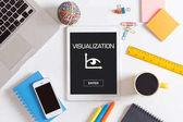 """Постер, картина, фотообои """"Концепция визуализации на экране"""""""