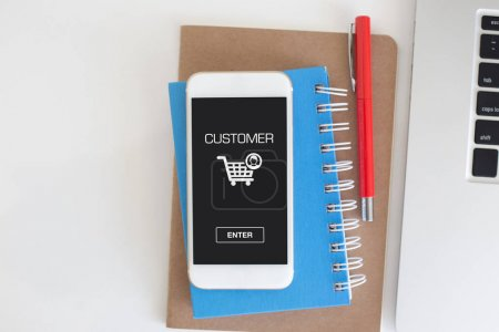 CUSTOMER CONCEPT on  device