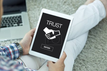 TRUST CONCEPT on screen