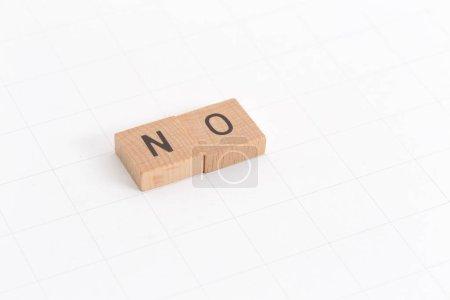 Photo pour Aucun mot CONCEPT de style scrabble jeu - image libre de droit
