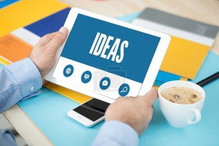 SHOWING IDEAS SCREEN