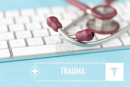 Photo for HEALTHCARE AND MEDICAL CONCEPT: TRAUMA - Royalty Free Image
