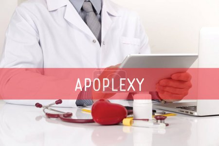 APOPLEXY HEALTHCARE CONCEPT