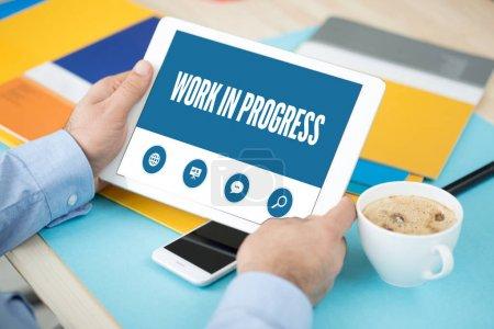 WORK IN PROGRESS SCREEN