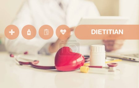 HEALTH CONCEPT: DIETITIAN